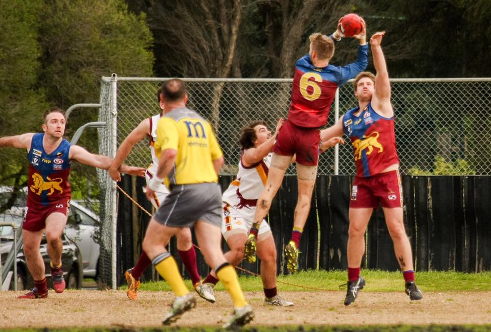 Michael Leamer pictured against rivals East Geelong (Photo: April Masters Smith).